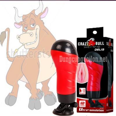 Âm đạo hít tường phát âm thanh Crazy Bull Delia-Baile